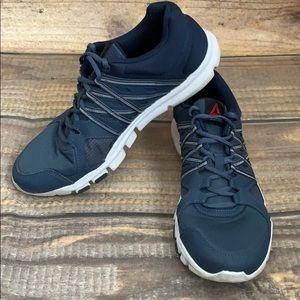 Reebok navy your flex shoes